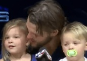 VIDEO: Clayton Kershaw's Daughter Adorably Agrees With Dave Roberts Pulling Dad Early
