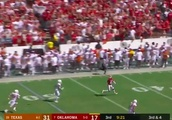 VIDEO: Hollywood Brown Torches Texas Defense With 77-Yard Touchdown Catch
