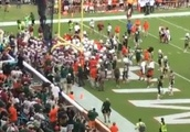 Miami and FSU Players Get Heated and Nearly Brawl Before Game