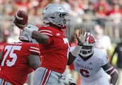 No. 3 Ohio State pulls away to beat pesky Indiana 49-26