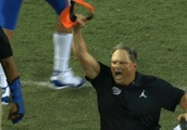 VIDEO: Florida Defensive Coordinator Screams Like a Maniac in NSFW Celebration