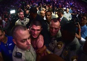UFC 229 Erupts in Chaos After Khabib Defeats Conor McGregor, Several People Arrested