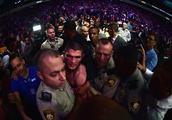 3 arrests have reportedly been made after a post-fight brawl marred Khabib Nurmagomedov's massive v