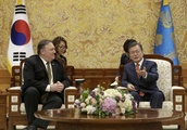 Pompeo cites progress made with Kim Jong UN on N. Korea trip