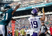 Vikings hang on for an impressive road win over the Eagles