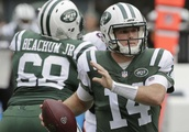Jets' Darnold drawing some early comparisons to Colts' Luck