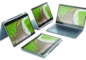HP Chromebook x360 14 unveiled with premium convertible design