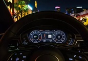 Audi helps you avoid red lights by suggesting speeds
