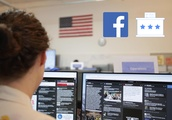 Take a video tour of Facebook's election security war room