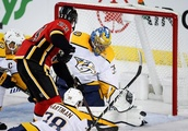 Rinaldo gets winner as Predators come out on top in 5-3 battle with Flames