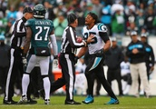 Eric Reid separated from Malcolm Jenkins in pre-game confrontation