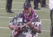 Hawaii football game opens with most beautiful national anthem rendition