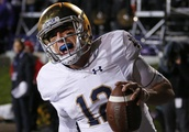 AP sources: Notre Dame QB Wimbush to start for ailing Book