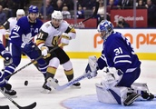 Andersen makes 36 saves to lift Leafs over Golden Knights