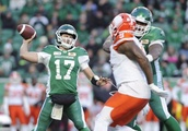 Riders social media says Collaros will start in West semi, but questions remain