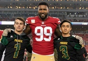 Paradise High School football team guests of San Francisco 49ers