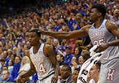 Top 25 roundup: Vick's 3-point barrage leads No. 2 Kansas in win