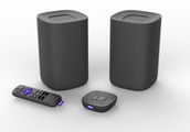 Roku's voice-powered wireless speakers and tabletop remote start shipping