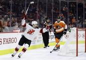 Kinkaid makes 29 saves, Devils beat Flyers 3-0