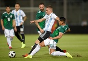 Experimental Argentina cruise to 2-0 win over Mexico