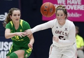 Ionescu gets 27 to lead No. 3 Oregon women past Saint Mary's