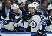 Laine scores 5 goals, lifts Winnipeg past St. Louis 8-4