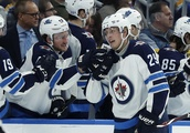 Laine scores 5 goals, lifts Winnipeg past St. Louis 8-4