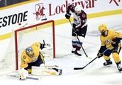 MacKinnon's 2 goals lead Avalanche past Predators 3-2