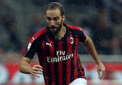 Chelsea target Higuain missing from AC Milan team photo