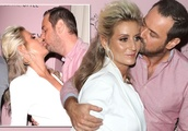 Danny Dyer lunges in for CRINGE kiss with wife Joanne Mas at Dani's clothing launch