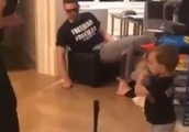 VIDEO: Freddie Freeman's Toddler Son Can Rake Because of Course He Can