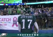 VIDEO: Eagles Bury Giants With Another TD to Alshon Jeffery