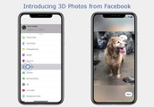 Facebook's 3D Photos Now Available