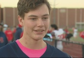Teen Raising Funds for Cancer by Kicking Field Goals Reaches Goal