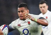 England No 8 Nathan Hughes may have sent the most expensive tweet in rugby history