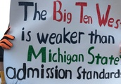 11 Funniest Signs From College Gameday in Ann Arbor