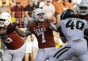 Ehlinger injured, but No. 9 Texas survives Baylor 23-17