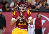 Daniels' 3 TDs lead USC in upset of No. 19 Colorado