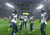 VIDEO: Seahawks Strike First in London and Drop Awesome 'Drumline' TD Celebration