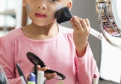 Mix Race Child Calls Mom Pasty in Makeup Tutorial
