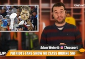 Pats Fans Showed Zero Class on SNF
