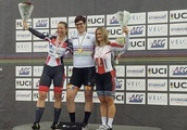 Podium picture of transgender woman winning female road race leads to torrent of abuse