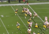 VIDEO: Packers Tie Things Up on Aaron Rodgers TD to Ty Montgomery