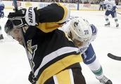 Canucks Penguins Hockey