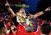 'It's about giving back' - Jason Taumalolo on the decision that sparked Tonga's remarkable rise
