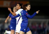 Chelsea Women bounce back from Arsenal mauling to earn narrow first leg lead over Fiorentina