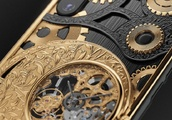 Russian Luxury Brand Caviar Launches $6000 iPhone XS With Mechanical Skeleton Clock