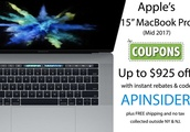Apple MacBook Pro Blowout Sale: Save up to $925 on Mid 2017 13