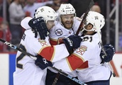 Huberdeau rescues Panthers