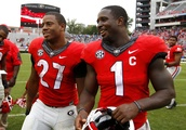 Patriots' Sony Michel Is Amped up for Browns RB Nick Chubb